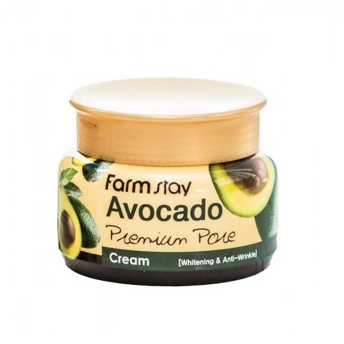 """Осветляющий лифтинг-крем для лица с экстрактом авокадо, 100 г """"Farm Stay"""""""
