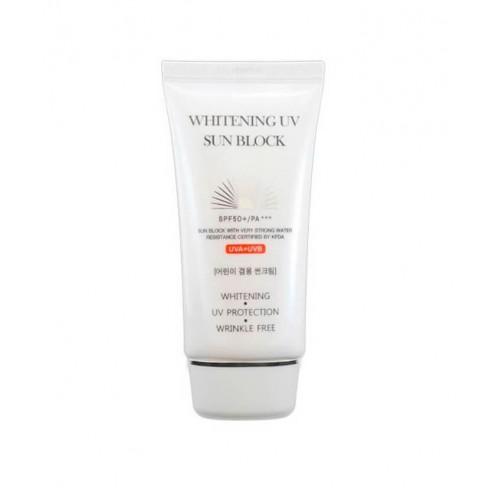 "Солнцезащитный крем Jigott Whitening UV Sun Block SPF 50+/PA+++ 70 мл  ""Jigott"""
