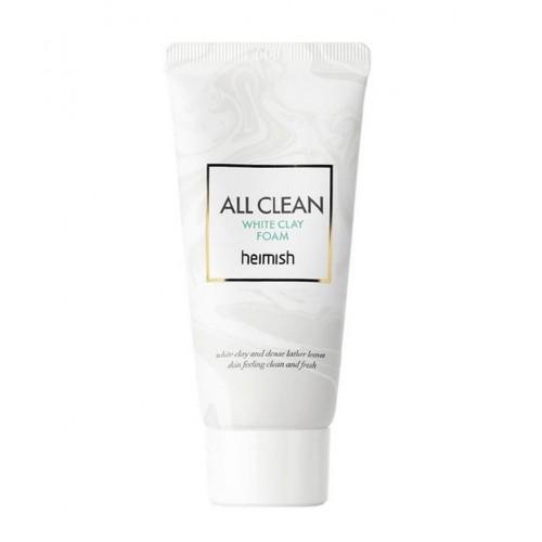 "Очищающая пенка с белой глиной All Clean White Clay Foam, 30 мл ""Heimish"""