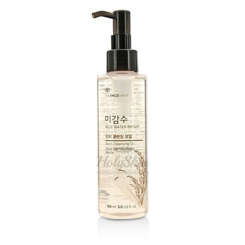 """Масло Rice Water Bright Cleansing Oil 150 ml """"The Face Shop"""""""