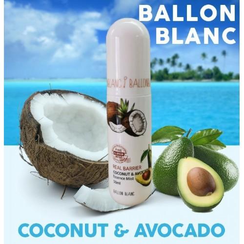 "Мист Real Barier Coconut & Avocado 50 мл ""Ballon Blanc"""