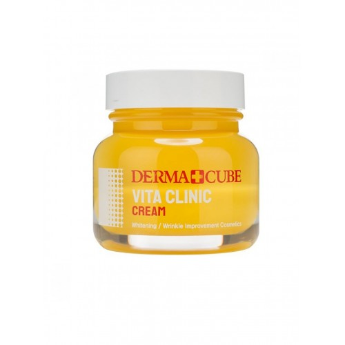 "Антиоксидантный крем для сияния кожи Derma+Cube Vita Clinic Cream ""Farm Stay"""