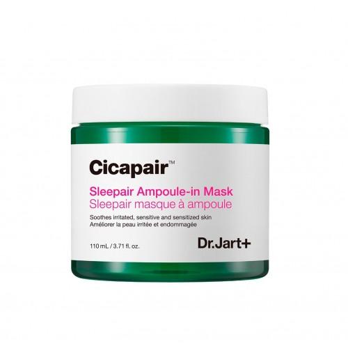 "Ночная восстанавливающая маска для лица Cicapair Sleepair Ampoule-In Mask ""Dr. Jart+"""