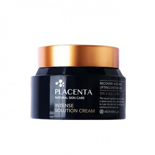 """Омолаживающий крем с плацентой Bonibelle Placenta Intense Solution Cream, 80 мл """"Enough"""""""