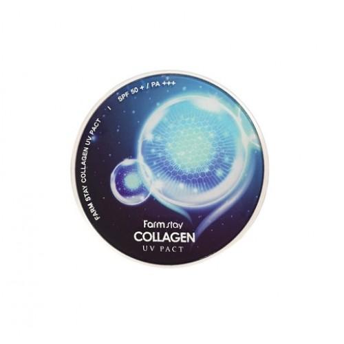 "Компактная пудра с коллагеном Collagen UV Pact 21 ""Farm Stay"""