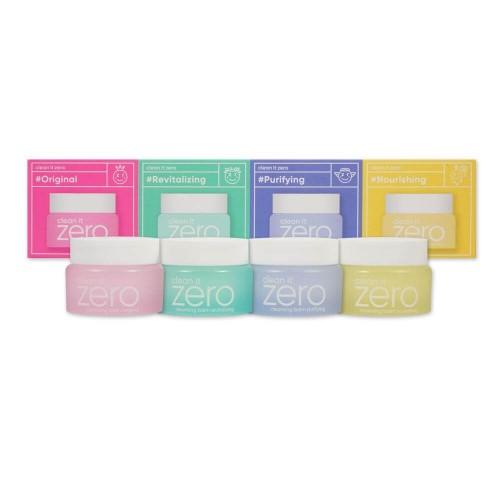 """Набор миниатюр очищающих бальзамов  Clean it Zero Special Kit """"BANILA CO"""""""