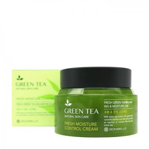 """Крем для лица  Bonibelle Green Tea Fresh Moisture Control Cream """"Enough"""""""