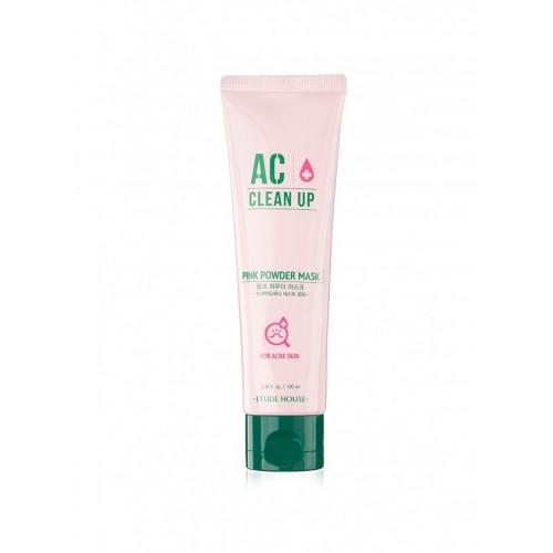 """Маска для проблемной кожи AC Clean Up Pink Powder Mask, 100 мл, с дозатором """"Etude House"""""""