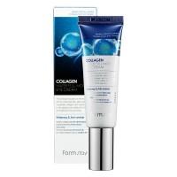 "Увлажняющий крем для зоны вокруг глаз с коллагеном Collagen water full moist eye ""FarmStay"""