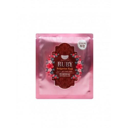 """Гидрогелевая маска для лица Ruby & Bulgarian Rose Mask Pack """"Koelf"""""""