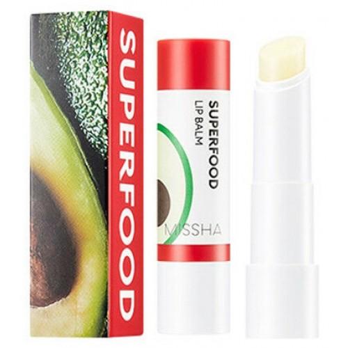 """Бальзам для губ с авокадо  Superfood Avocado Lip Balm 3.2 г """"Missha"""""""