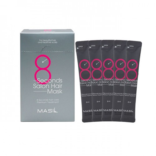 "Маска для волос 8 Seconds Salon Hair Mask Travel, 8 мл ""Masil"""