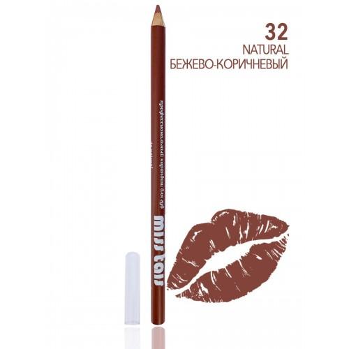 "Контурный карандаш для губ 32 БРАЗИЛИЯ ""Miss Tais"""