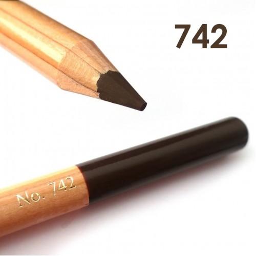 """Профессиональный контурный карандаш для бровей (Чехия)  742 """"MISS TAIS"""""""