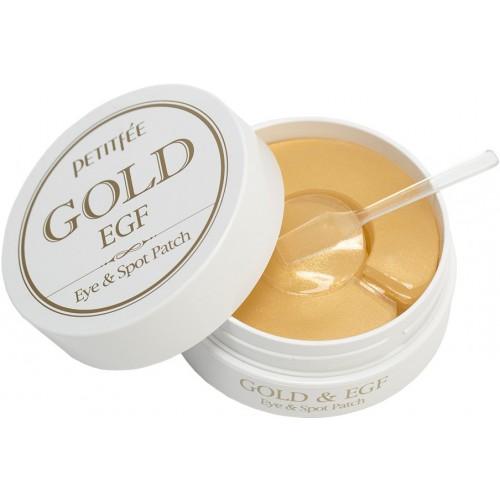 """Гидрогелевые патчи для глаз Gold EGF Eye Spot Patch """"Petitfee"""""""