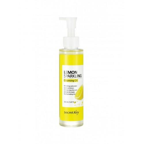 """Гидрофильное масло с экстрактом лимона Lemon Sparkling Cleansing Oil 150 мл """"Secret Key"""""""