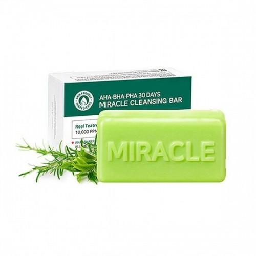 """Очищающее мыло для проблемной кожи с кислотами Mi AHA-BHA-PHA 30 Days Miracle Cleansing Bar """"Some By"""""""